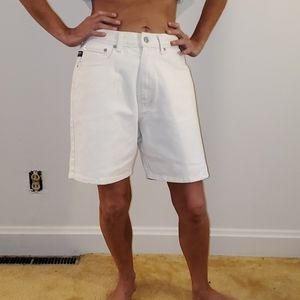 Pepe Vintage high waist jean shorts